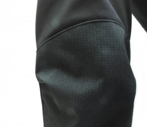Extreme II Soft Shell pants with knee warmers